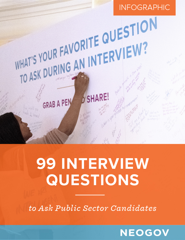99 Interview Questions to Ask Public Sector Candidates