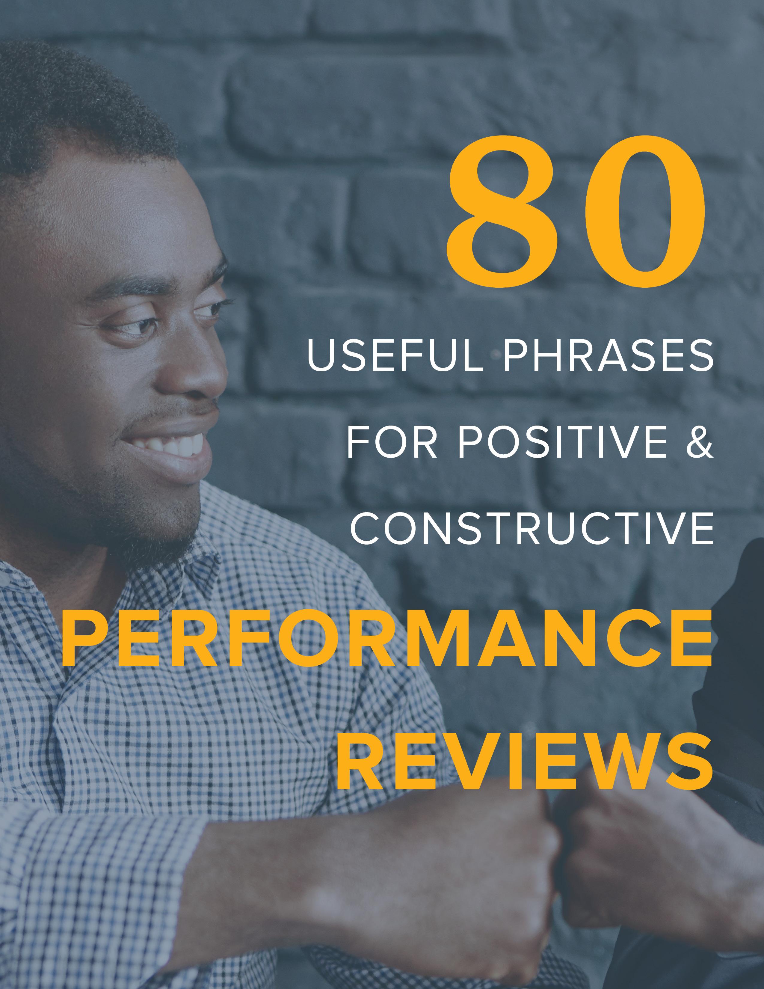 NEOGOV 80 Useful Phrases for Positive & Constructive Performance Reviews