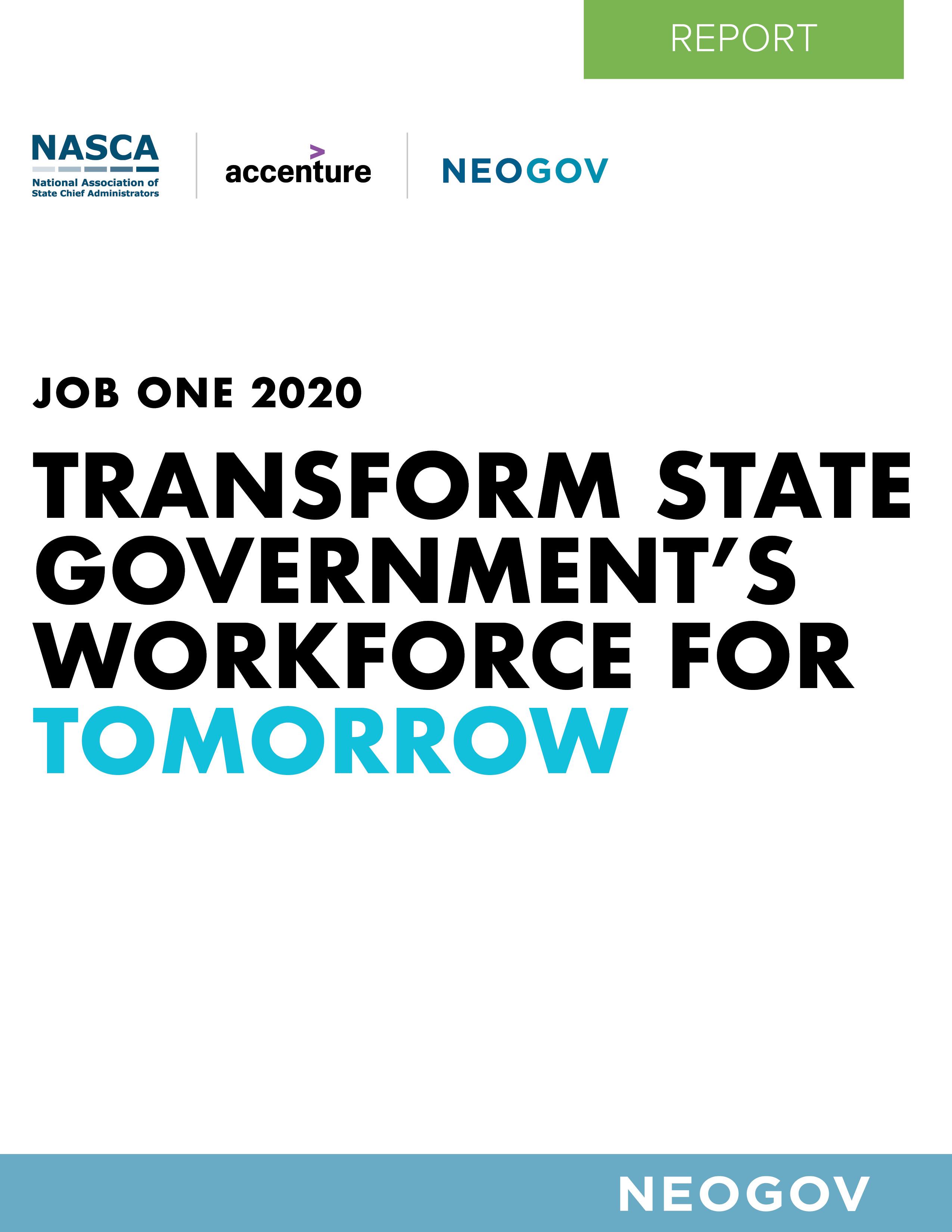 NEOGOV - 2020 NASCA Job One Report