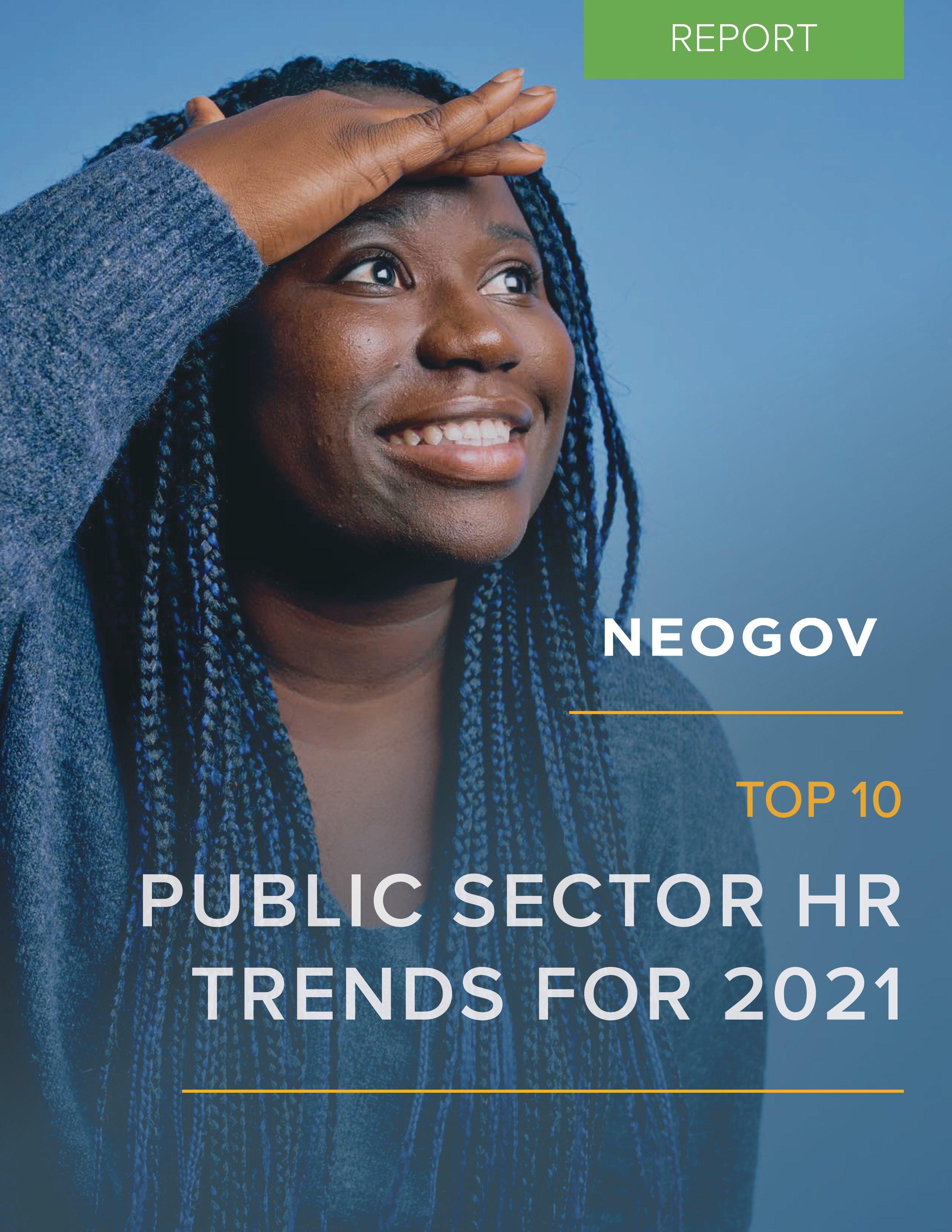 NEOGOV Top 10 Public Sector Trends for 2021